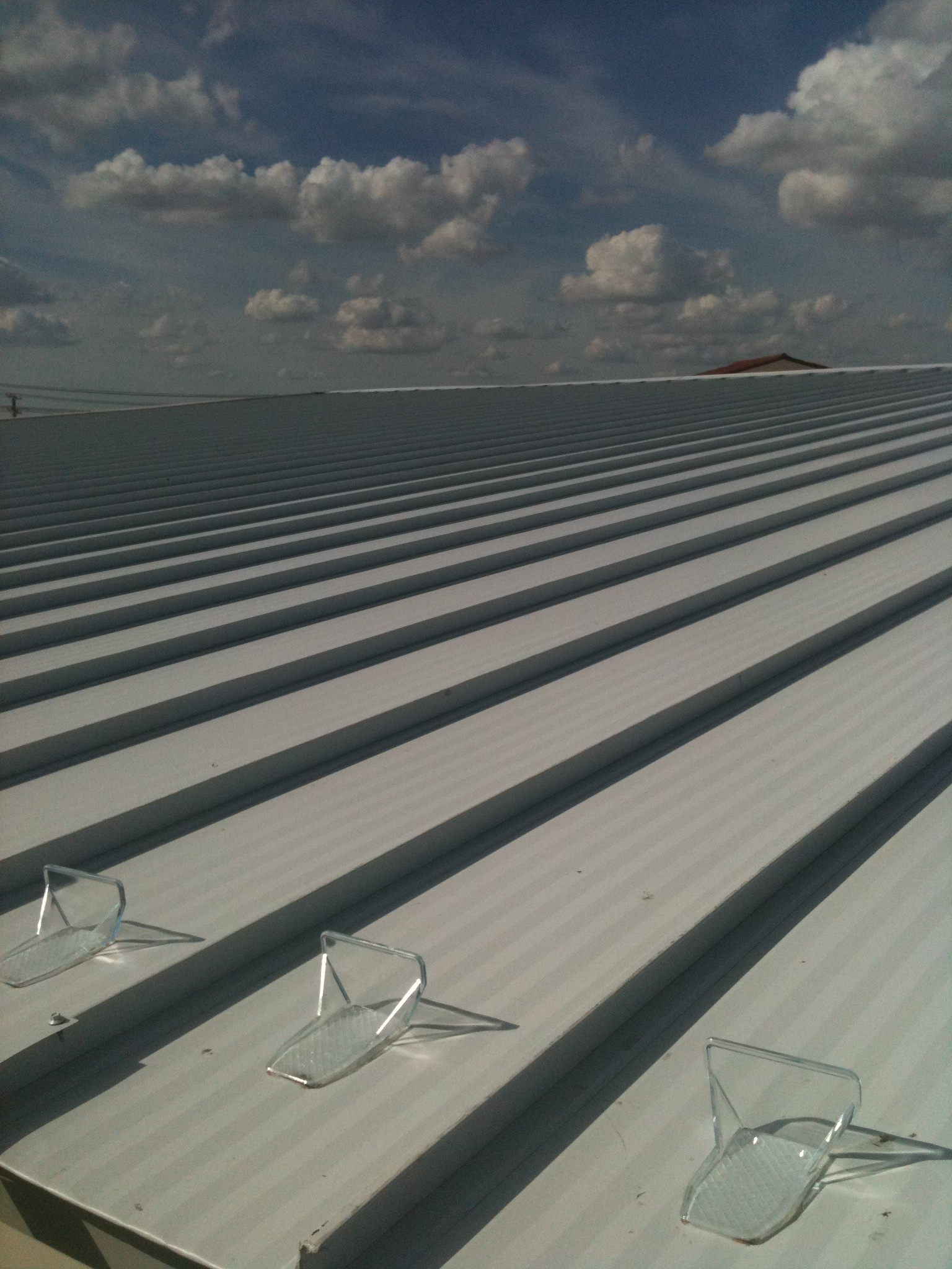 LifeTime Commercial Standing Seam Roof With Ice Guards